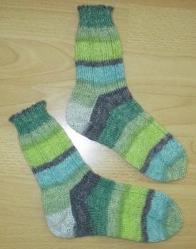 Unikat! Handgestrickte Socken Größe 30/31